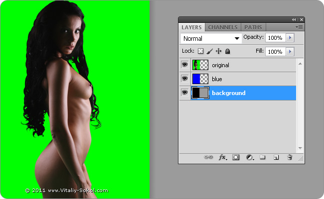 chromakey in photoshop tutorial