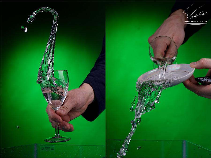 секреты фотографирования съемки воды жидкости и стекла