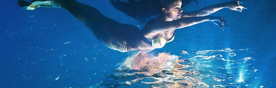 Подводная фотосъемка моделей