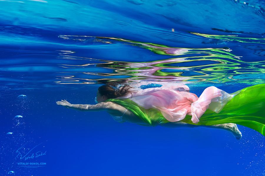 underwater dance fashion