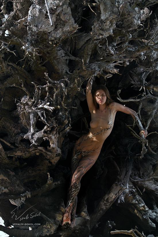 Бодиарт и фотография от Виталия Сокола