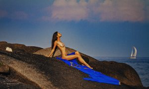 Phuket, naked model